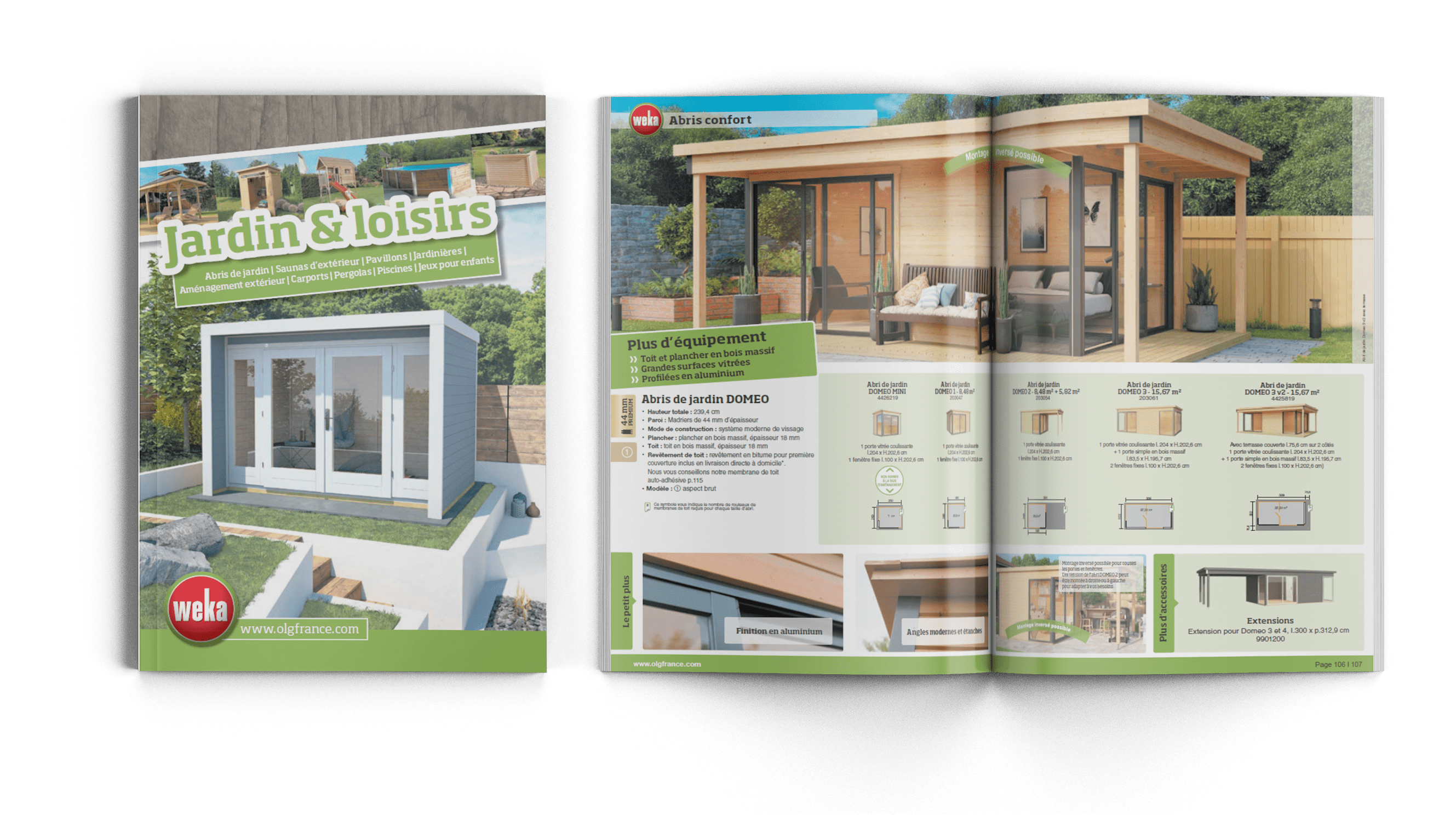 Catalogue Jardin & Loisirs Weka 2021
